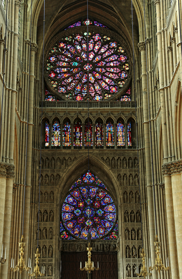 Rosaces de la cathédrale de Reims.